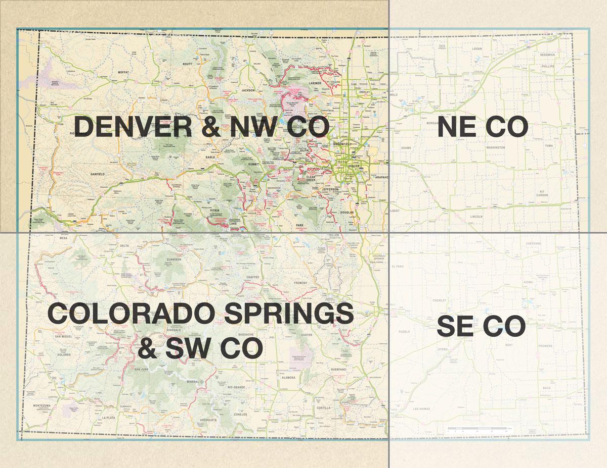 Rider Resources - Road maps of colorado