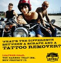 What's the difference between a scrape and a tattoo remover? Leather gear. You earned that ink. Now protect it. thumbnail image