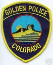Golden Police Department logo