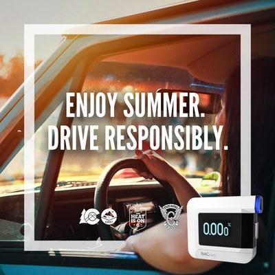 Enjoy summer drive responsibly