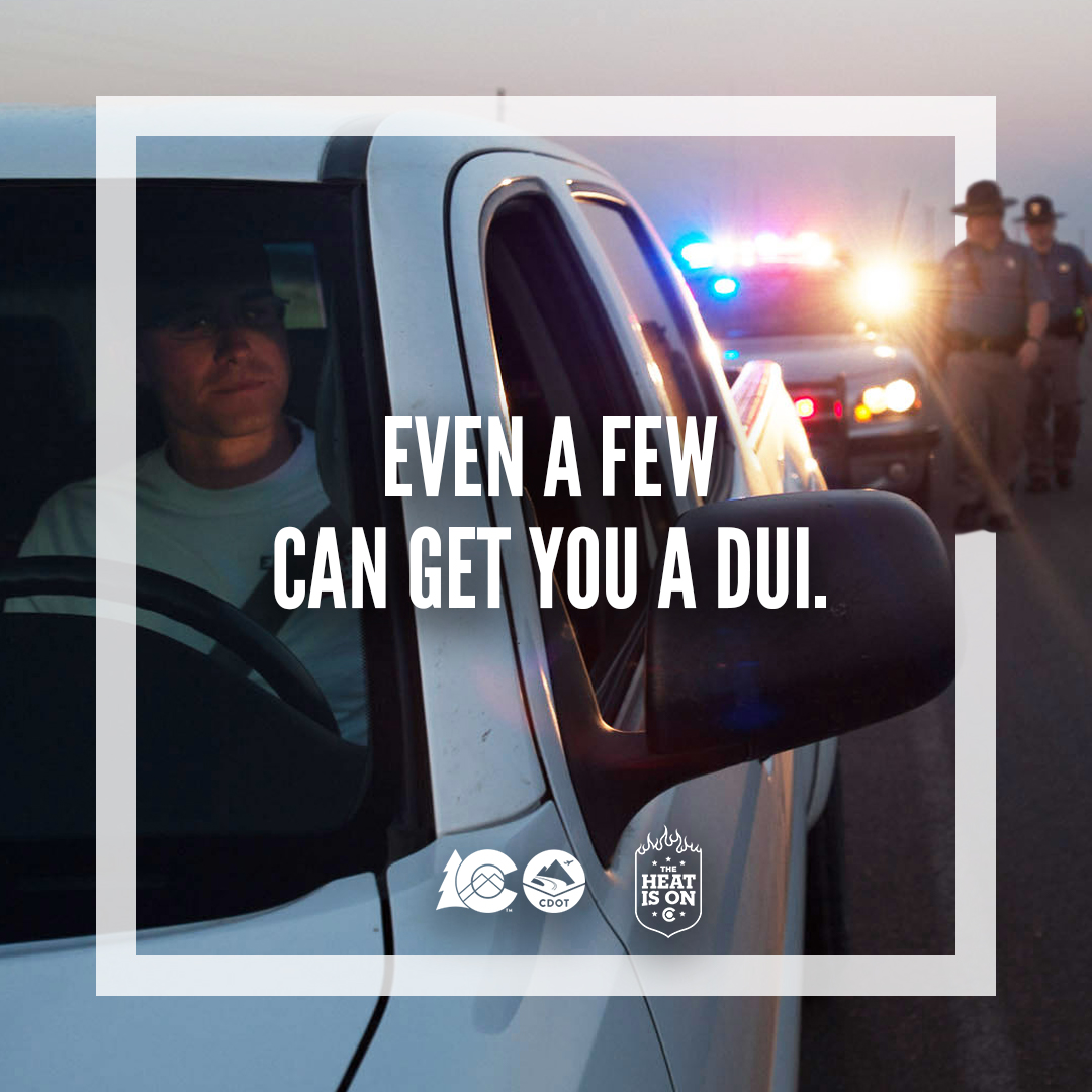Even a few can get you a DUI