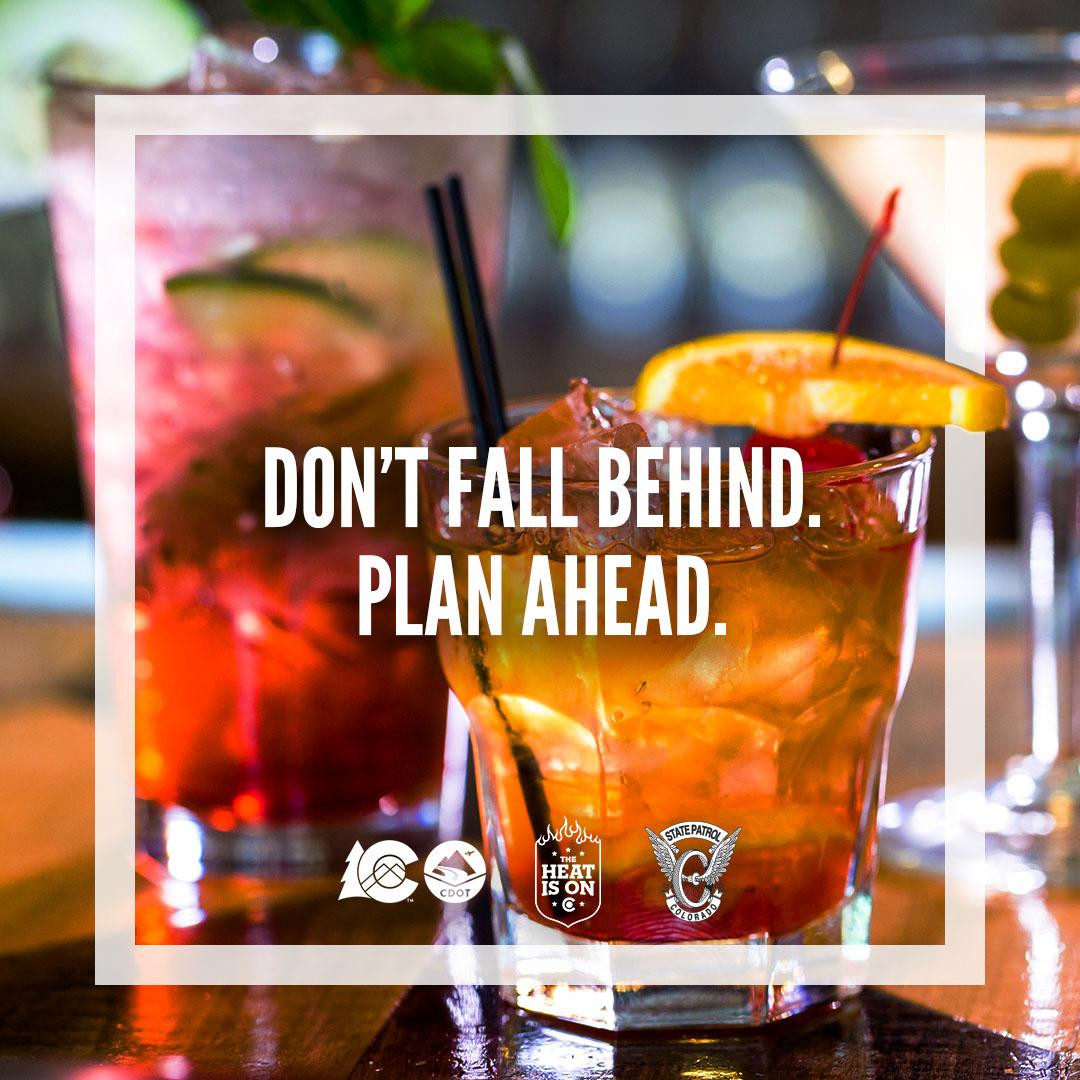 Don't Fall Behind. Plan Ahead.