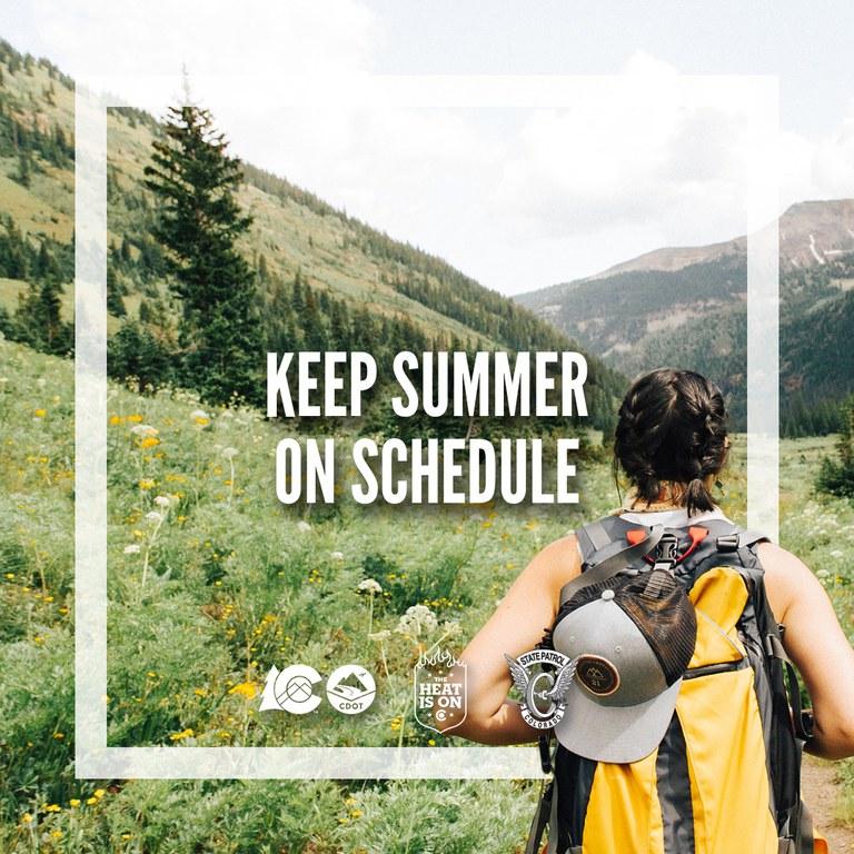Keep Summer On Schedule