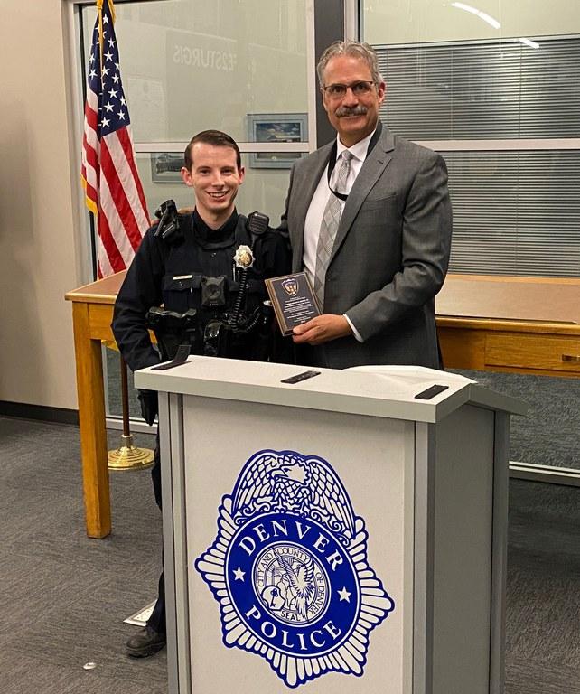 Denver Police Office Andrew Duarte