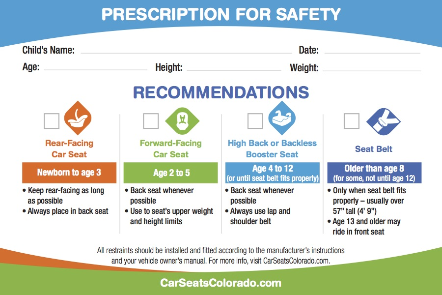 Booster Seat Requirements Colorado Brokeasshome Com