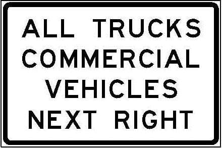 R13-1a All Trucks Commercial Vehicles Next Right JPEG
