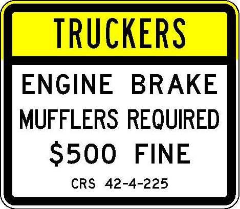 R52-7 Truckers - Engine Brake Mufflers Required $500 Fine JPEG