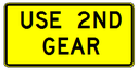 W7-2aP USE 2ND GEAR