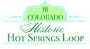 Colorado Historic Hot Springs Loop logo