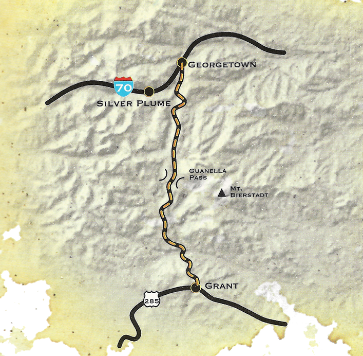 Guanella Pass Map