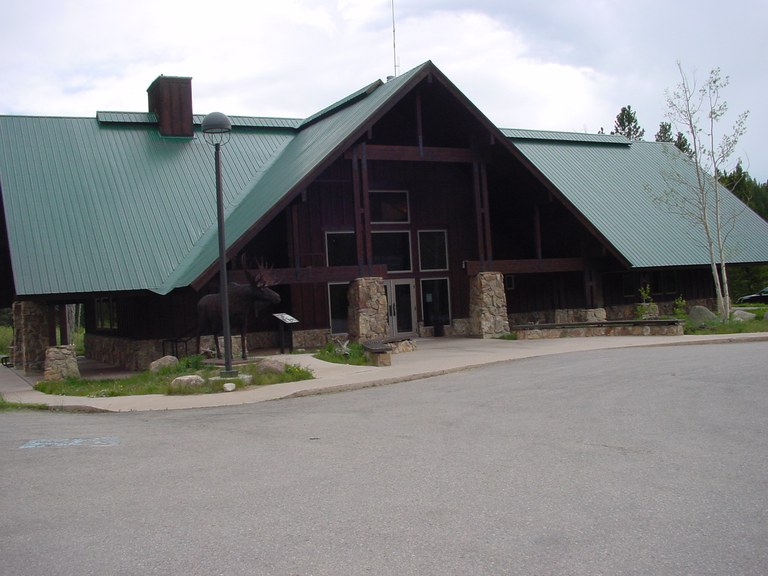 Moose Visitor Center, Colorado State Forest
