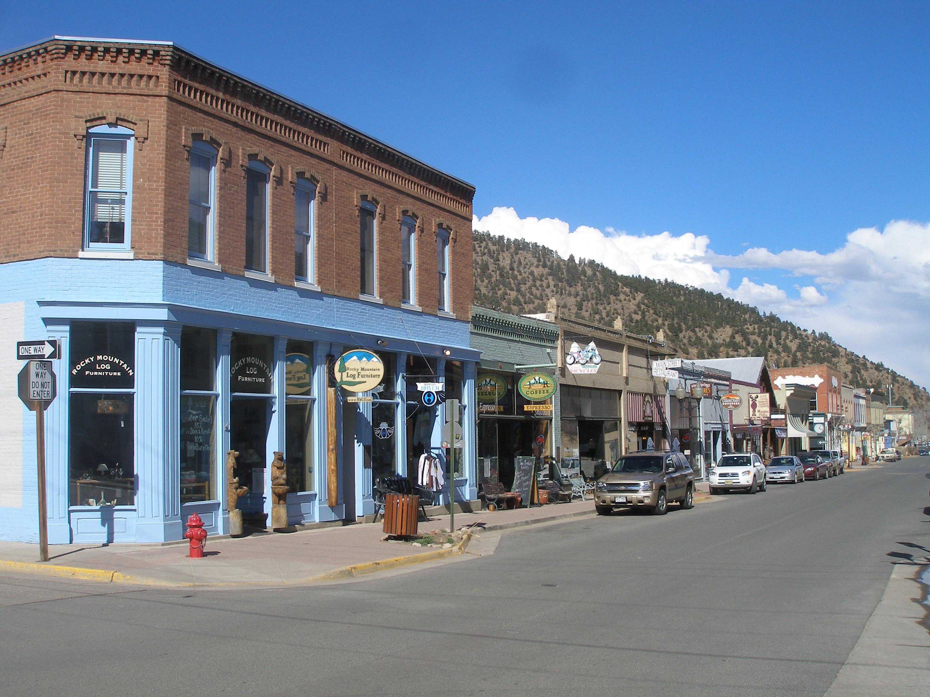 Idaho Springs Historic District detail image