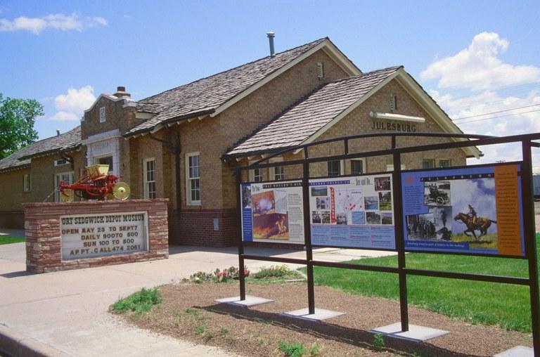Depot Museum, Julesburg