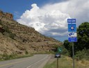 Grand Mesa Byway sign