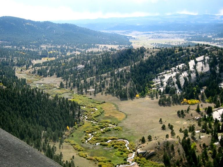Dome Rock/Four-mile Creek Area