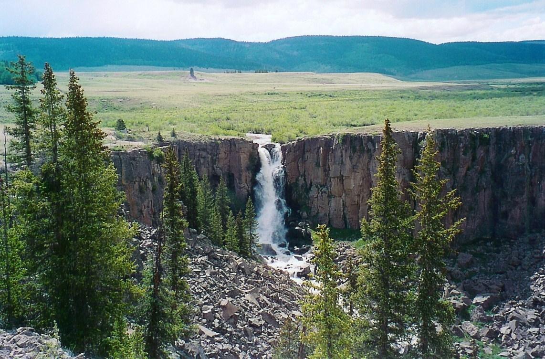 Clear Creek Falls detail image