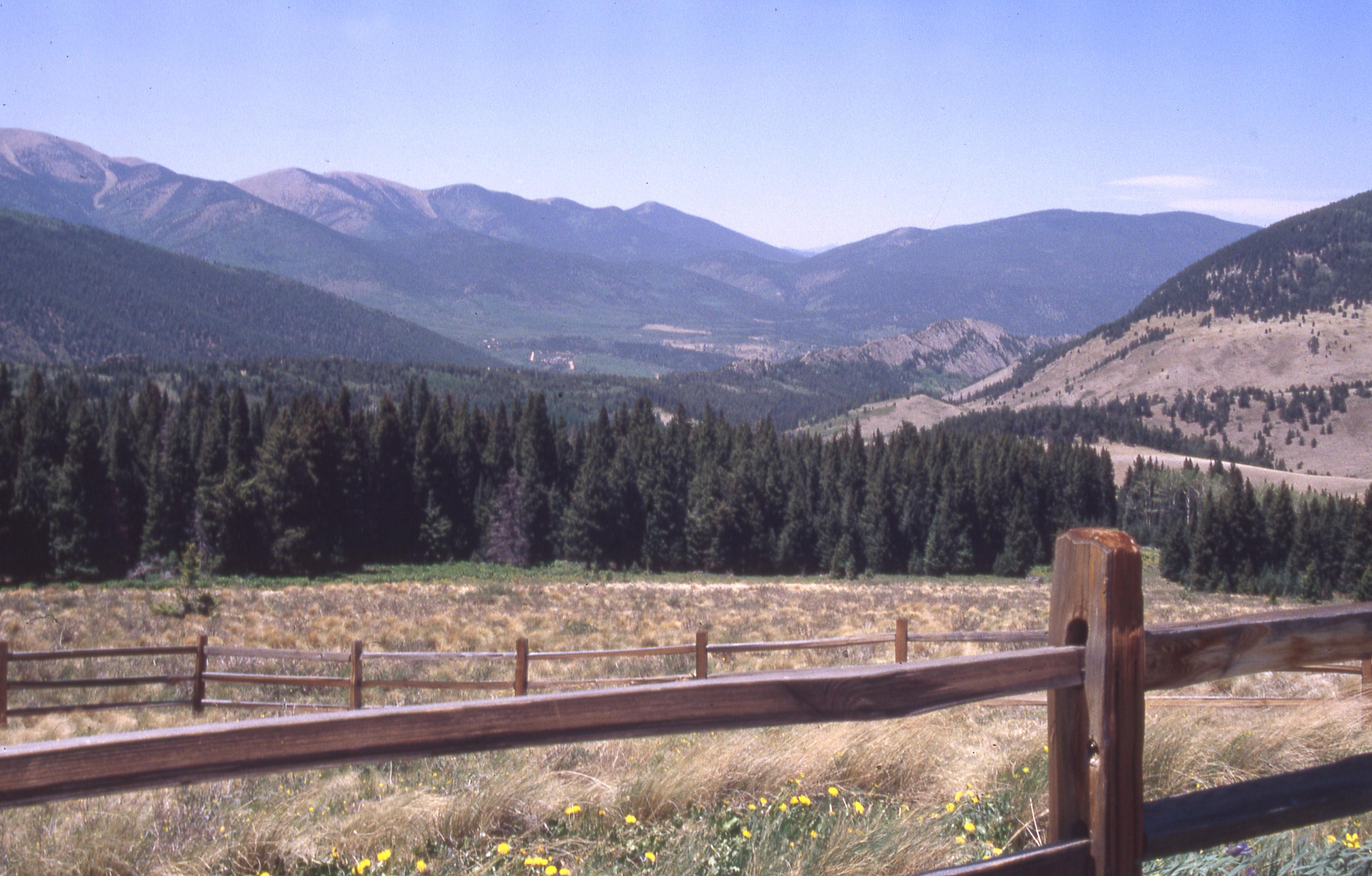 Cordova Pass near Cuchara detail image