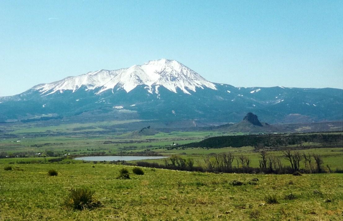 Spanish Peaks near La Veta detail image