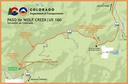 Un mapa del Paso de Wolf Creek en español
