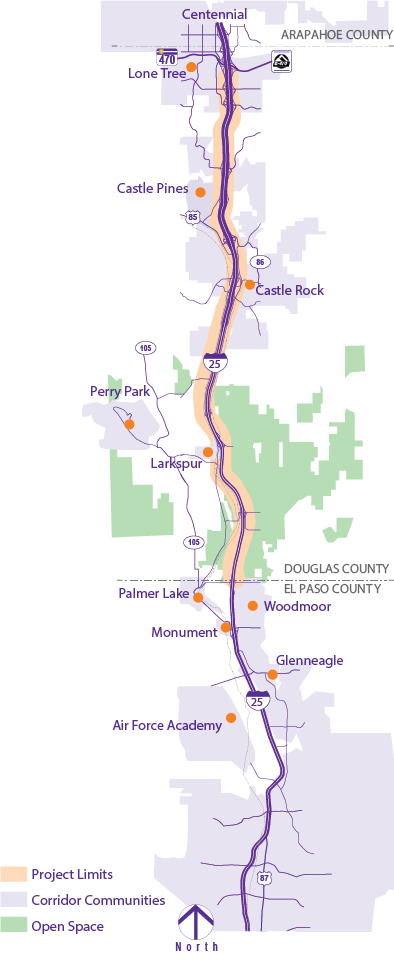 I-25 PEL Map.png
